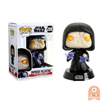 POP! Star Wars Emperor Palpatine #289 Return of the Last Jedi