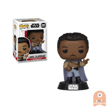 POP! Star Wars general Lando Calrissian #291 Return of the Last Jedi