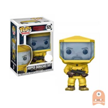 POP! Television Hopper Biohazard Suit #525 Stranger Things