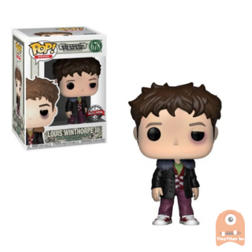 POP! Movies Louis Winthorpe III Beat up #678 Trading Places