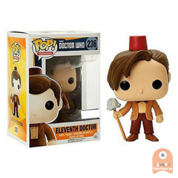 POP! Television Eleventh Doctor - Fez & Mop #236 Doctor Who