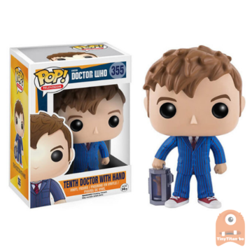 POP! Television Tenth Doctor w/ hand #355 Doctor Who