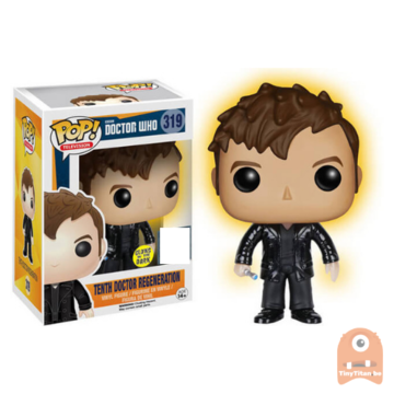 POP! Television Tenth Doctor regeneration GITD #319 Doctor Who
