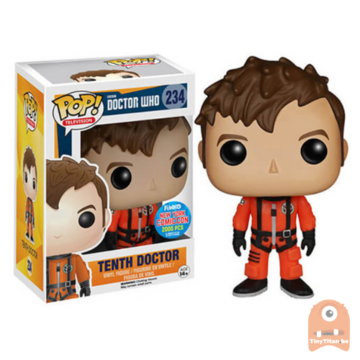 POP! Television Tenth Doctor Spacesuit #234 Doctor Who NYCC