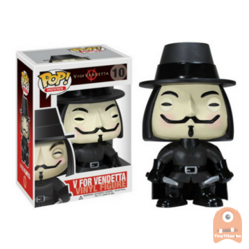 POP! Movies V for Vendetta #10 Vaulted