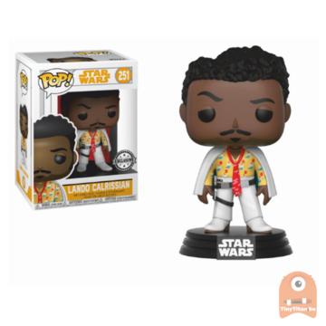 POP! Star Wars lando Calrissian - White #251 Solo