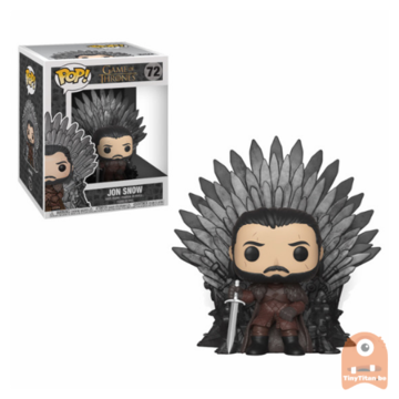 POP! Game of Thrones Jon Snow Sitting on Throne #72