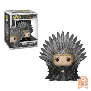 POP! Game of Thrones Cersei Sitting on Throne #73