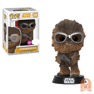 POP! Star Wars Chewbacca Flocked #239 Solo