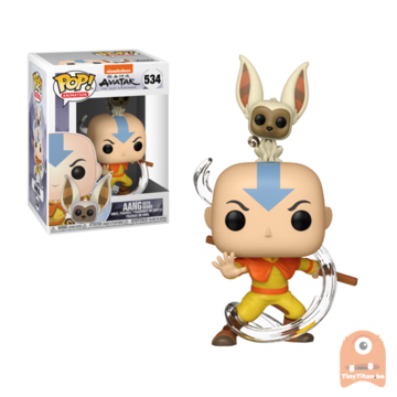 POP! Animation Aang with Momo #534 Avatar - The Last Airbender