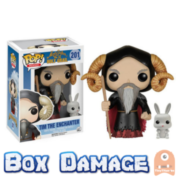 POP! Movies Time the Enchanter & Rabbit #201 Monty Python - Holy Grail - Vaulted - DMG