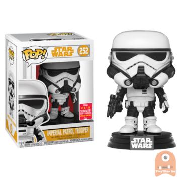 POP! Star Wars Imperial Patrol Trooper #252 SDCC 2018