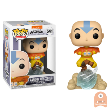 POP! Animation Aang on Airscooter #541 Avatar - The Last Airbender - Excl.