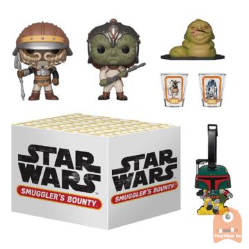 POP! Star Wars Smugglers Bounty - jabba's Skiff