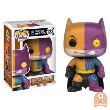 POP! Heroes Two-Face Impopster #123 DC