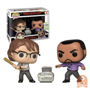 POP! Movies Michael Bolton & Samir 2-Pack Office Space