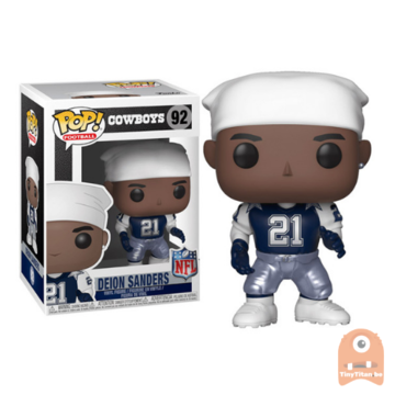 POP! Sports Deion Sanders Throwback #92 NFL Cowboys