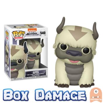 POP! Animation Appa #540 Avatar - The Last Airbender - BOX DMG