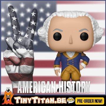 Funko POP! George Washington - American History PRE-ORDER