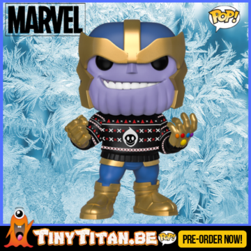 Funko POP! Thanos w/ Ugly Sweater - Marvel Christmas Holiday PRE-ORDER