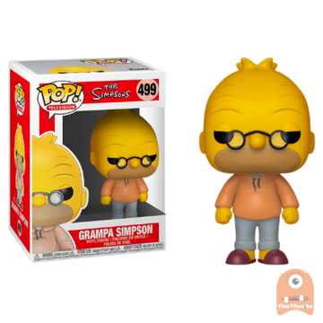 POP! Television Grampa Simpson - Abe #499 The Simpsons