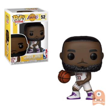 POP! Sports LeBron James Lakers White Jersey #52 NBA