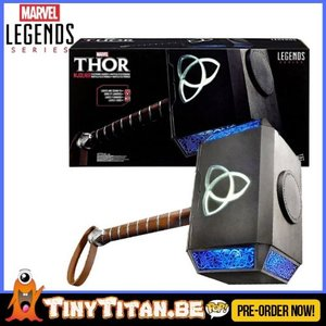 Marvel Legends Series Thor Marvel Legends Articulated Electronic Hammer Mjolnir - Pre-Order