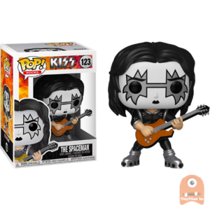 POP! Rocks The Spaceman #123 Kiss