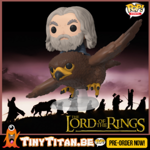 Funko POP!Gwaihir w/ Gandalf Ride - Lord of the Rings PRE-ORDER