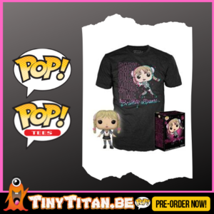 Funko POP! & TEE BOX Britney Baby One More Time Exclusve PRE-ORDER