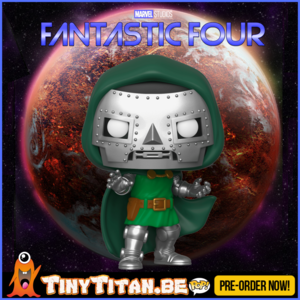 Funko POP! Doctor Doom - Marvel Fantastic Four PRE-ORDER