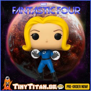 Funko POP! Invisible Girl - Marvel Fantastic Four PRE-ORDER