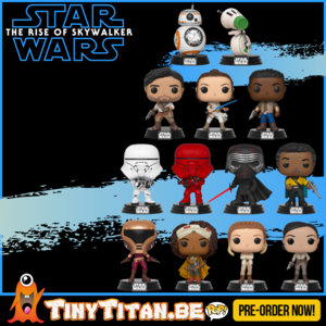 Funko POP! Bundle of 13 - Star Wars Episode IX PRE-ORDER