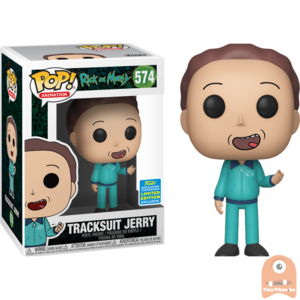 POP! Animation Tracksuit Jerry #574 Rick and Morty - SDCC