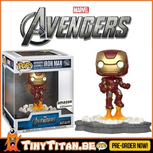Funko POP! Deluxe, Marvel: Avengers Assemble Series - Iron Man Exclusive PRE-ORDER