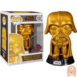 POP! Star Darth Vader Gold Metallic #157 Exclusive