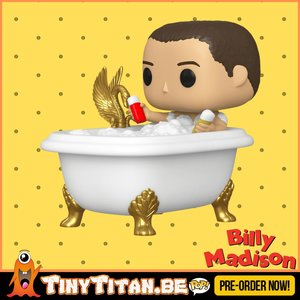 Funko POP! Billy Madison in bath Deluxe - Billy Madison PRE-ORDER