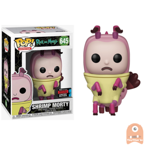POP! Animation Shrimp Morty #645 Rick and Morty Exclusive - NYCC
