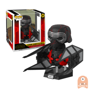 POP! Deluxe Star Wars Supreme Leader Kylo Ren in the Whisper #321 Episode IX - The Rise of Skywalker