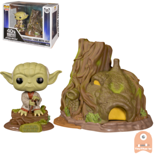 Funko POP! Town: Dagobah Yoda w/ Hut - Star Wars Episode V #11
