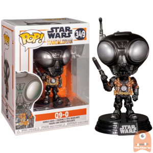 POP! Star Wars Q9-0 #349 The mandalorian