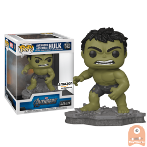 Funko POP! Deluxe, Marvel: Avengers Assemble Series - Hulk #585 Exclusive