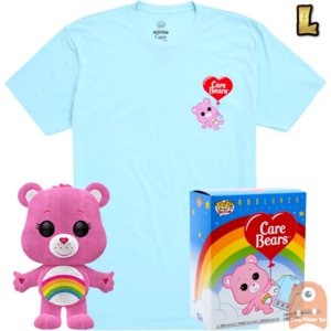 Funko POP! & TEE BOX Care Cheer Bear Flocked Exclusive - Large