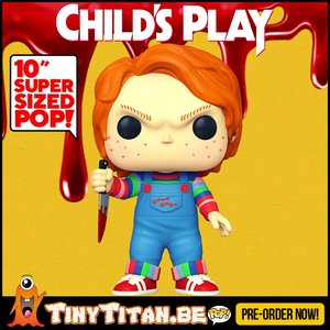 Funko POP! Chucky 10 INCH - Child's Play Pre-Order