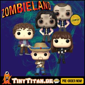 Funko POP! Bundle of 4 + CHASE - Zombieland Pre-Order