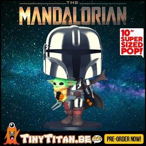 Funko POP! The mandalorian Holding The Child 10 INCH - Star Wars Pre-Order
