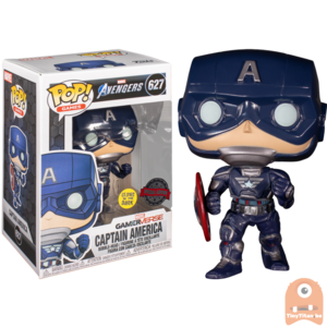 POP! Games Captain America GITD #627 Marvel's Avengers GameVerse - Excl.