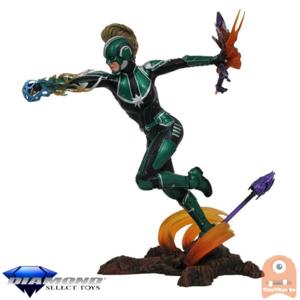 Marvel Movie Gallery Captain Marvel Starforce PVC Diorama 23 CM