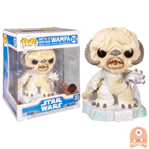POP! Deluxe, Star Wars: Battle at Echo Base Series - 6 Inch Wampa #372 Exclusive