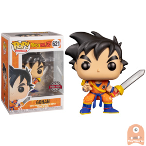 POP! Animation Young Gohan w/ Sword #621 Dragonball Z - Exclusive